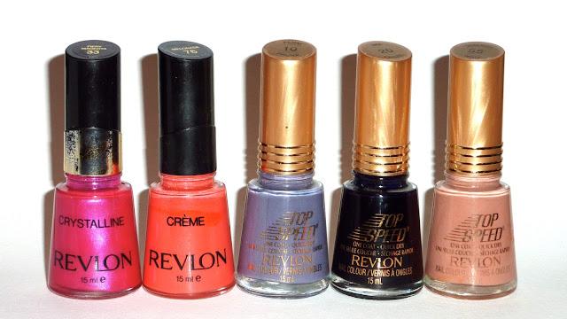 Revlon - Fiery Magneta,Melonade, Plum, Ink, Walnut
