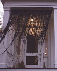 Halloween: Cortina para sua decoração