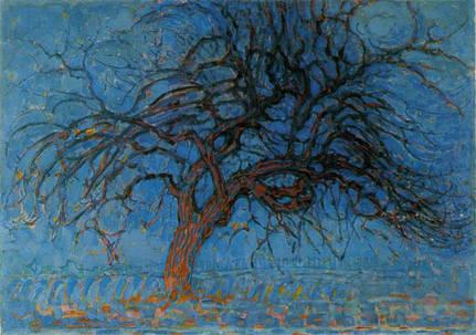 Extrêmement debat art figuration: La transparence des arbres (l'arbre solitaire) HV19