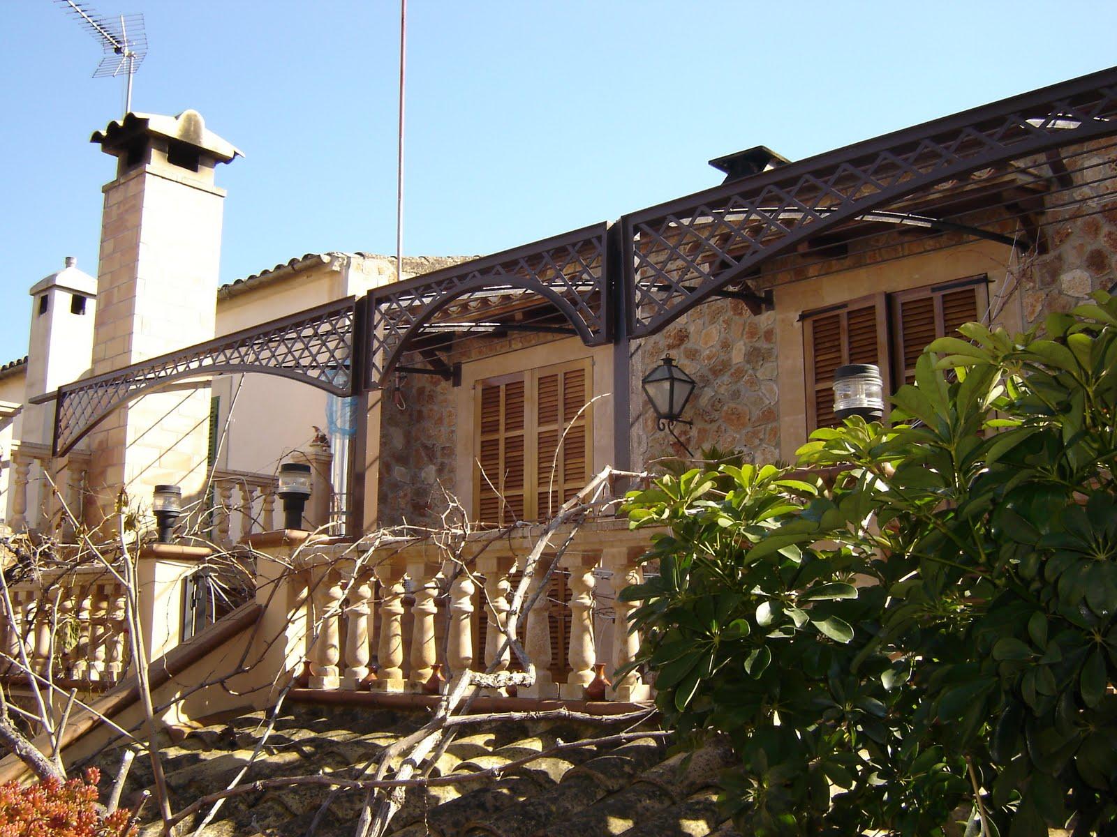 Arte en hierro juan jose oliva cerezo p rgola de terraza - Pergola en terraza ...