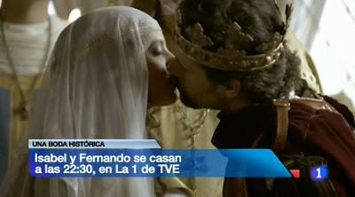 Rodolfo Sancho y Michelle Jenner en Isabel, TVE