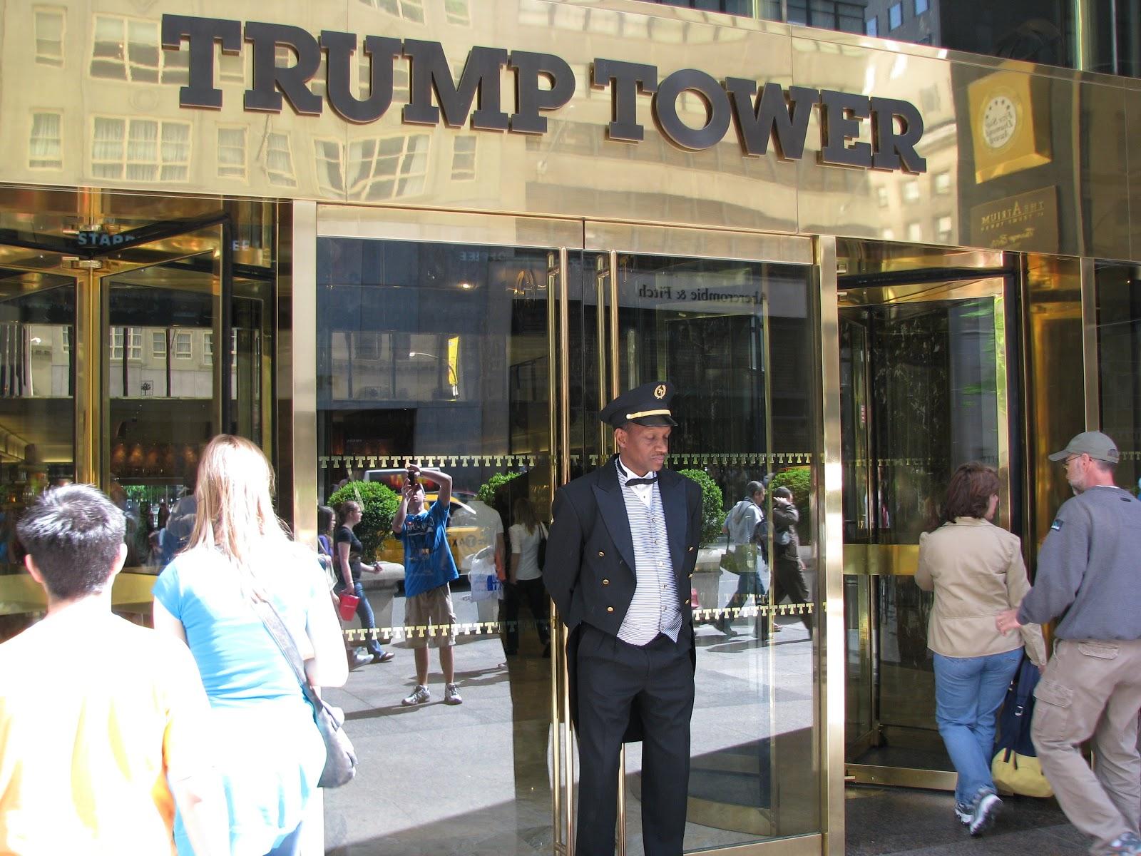 york city attractions trump tower