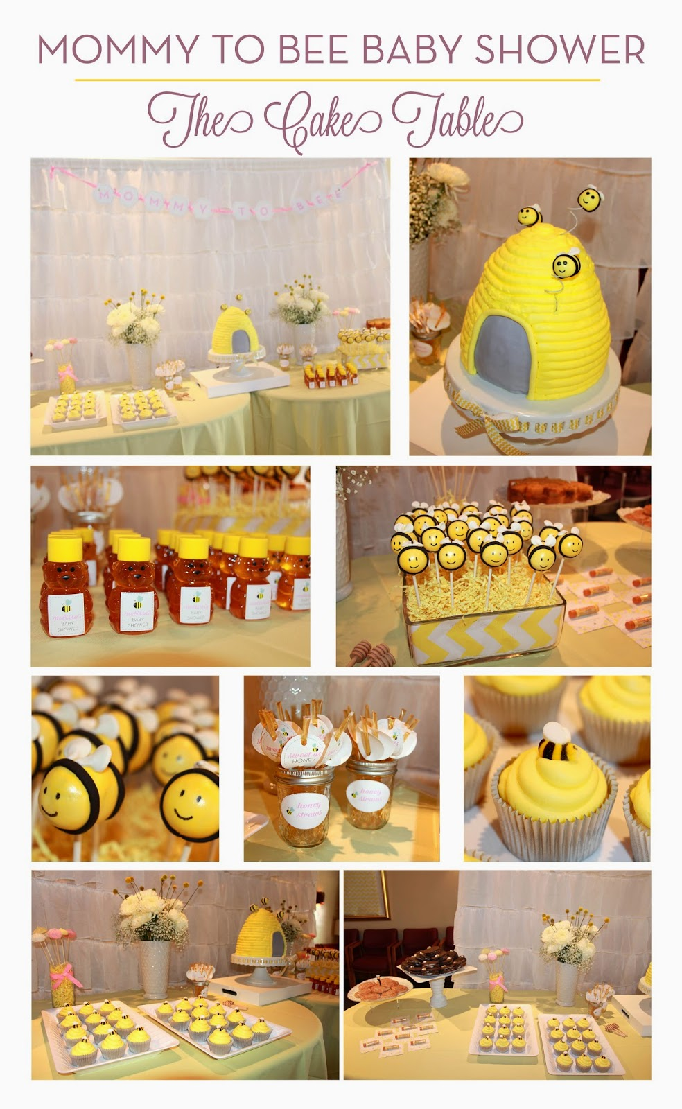 ... Bee Cake Pops, Honeybuns, Merengues On Sticks, Honey Straws, A Big  Beehive Cake And Much More! Cake, Cupcakes And Cake Pops By Thelmau0027s Cakes.