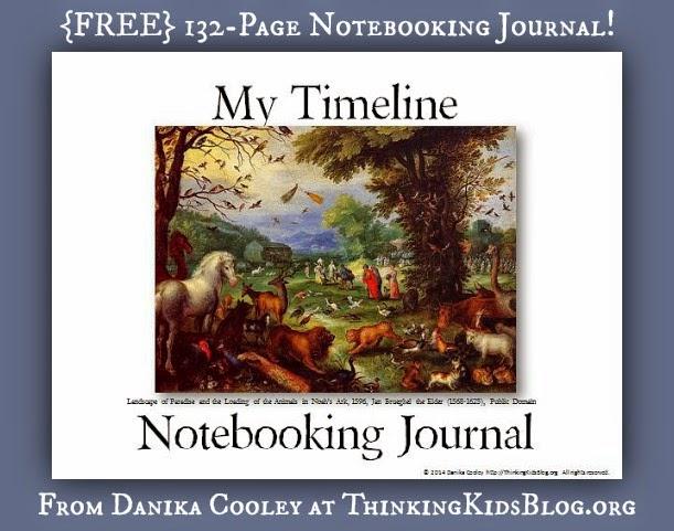 FREE Timeline Notebook