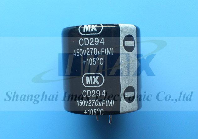 Imax Electronic Alu Electrolytic Capacitors Cd294 105c
