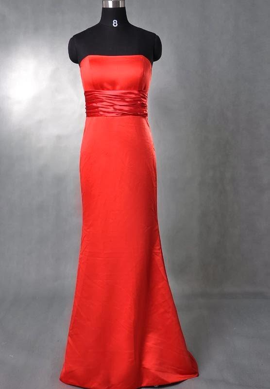 Whiteazalea bridesmaid dresses beautiful red winter for Red winter wedding dresses