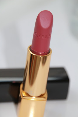 chanel rouge allure velvet 34 raffinée test avis essai photo blog