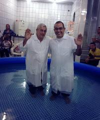 BATISMO NAS ÁGUAS - IGREJA VIDA NOVA - DEZ/ 2013