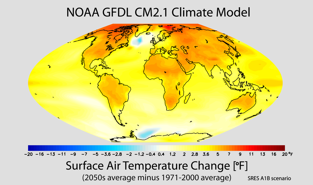 Don't worry. America isn't alone in harboring climate change deniers.