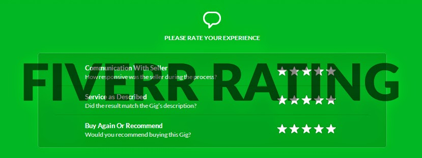 Fiverr rating