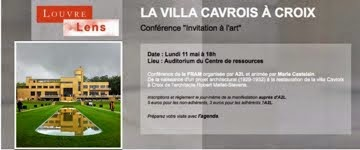 La Villa Cavrois au Louvre Lens et à Douai