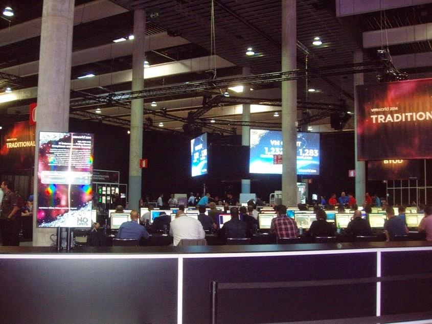 VMWorld 2014 - Barcelona: Lunes, 13