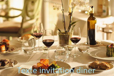 sms message et texte d 39 invitation texte invitation diner. Black Bedroom Furniture Sets. Home Design Ideas