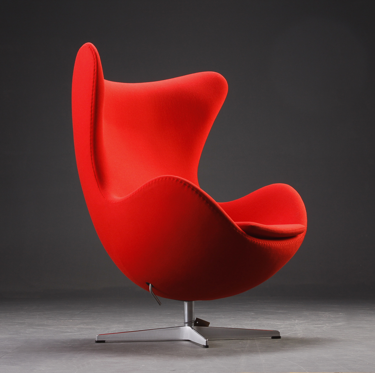 Egg™ Chair   Woold/Red : Fritz Hansen Furniture