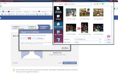 bagaimana Cara Membuat Facebook (Account FB)