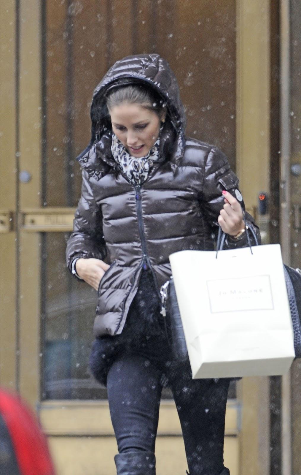 The Olivia Palermo Lookbook : Olivia Palermo Leaving her apartment ...
