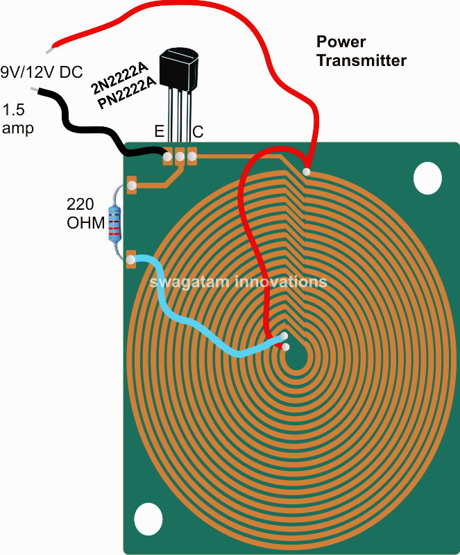 Wireless Cellphone Charger Circuit Satu Solusi