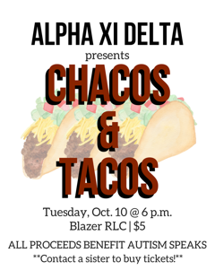 alpha xi delta theta phi at uab it s almost time for tΑco tuΞsdΔy