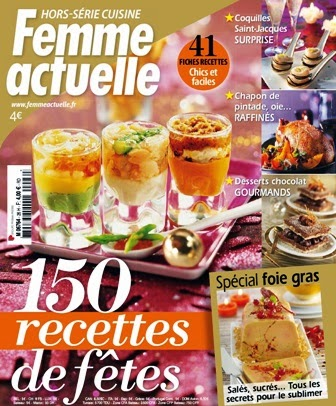 magazine femme actuelle hs cuisine n26 2014 150 recettes de fetes. Black Bedroom Furniture Sets. Home Design Ideas
