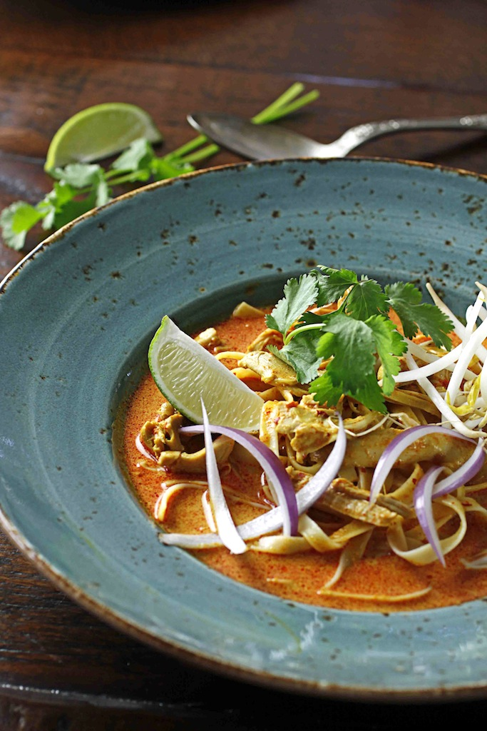 Egg Noodles With Rich Chicken Curry Sauce (Khao Soi) Recipes ...