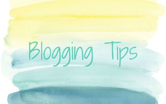 Lights&Shadows Blogging Tips