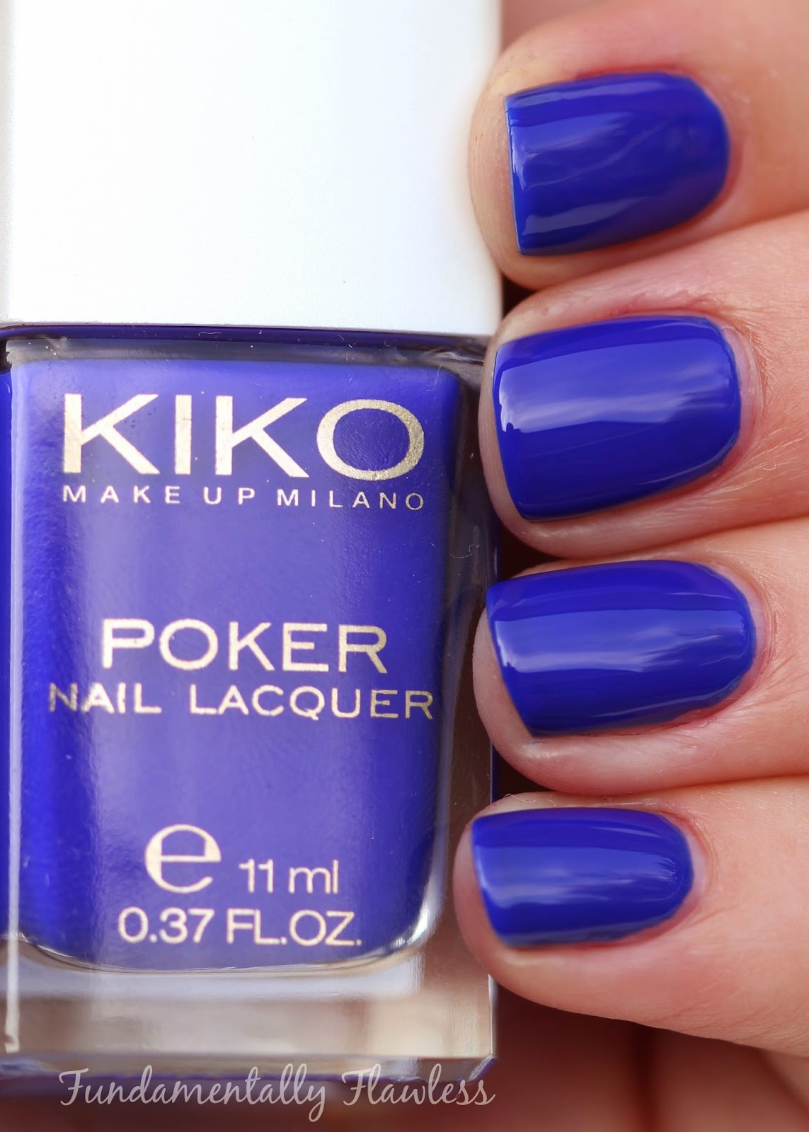 Kiko Daring Game Collection Exclusive Blue swatch