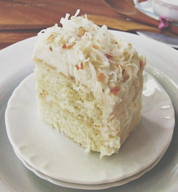 coconut ginger cake | une gamine dans la cuisine