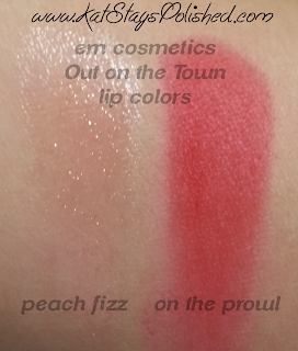 em michelle phan - The Life Palette- Party Life - Out on the Town - lip