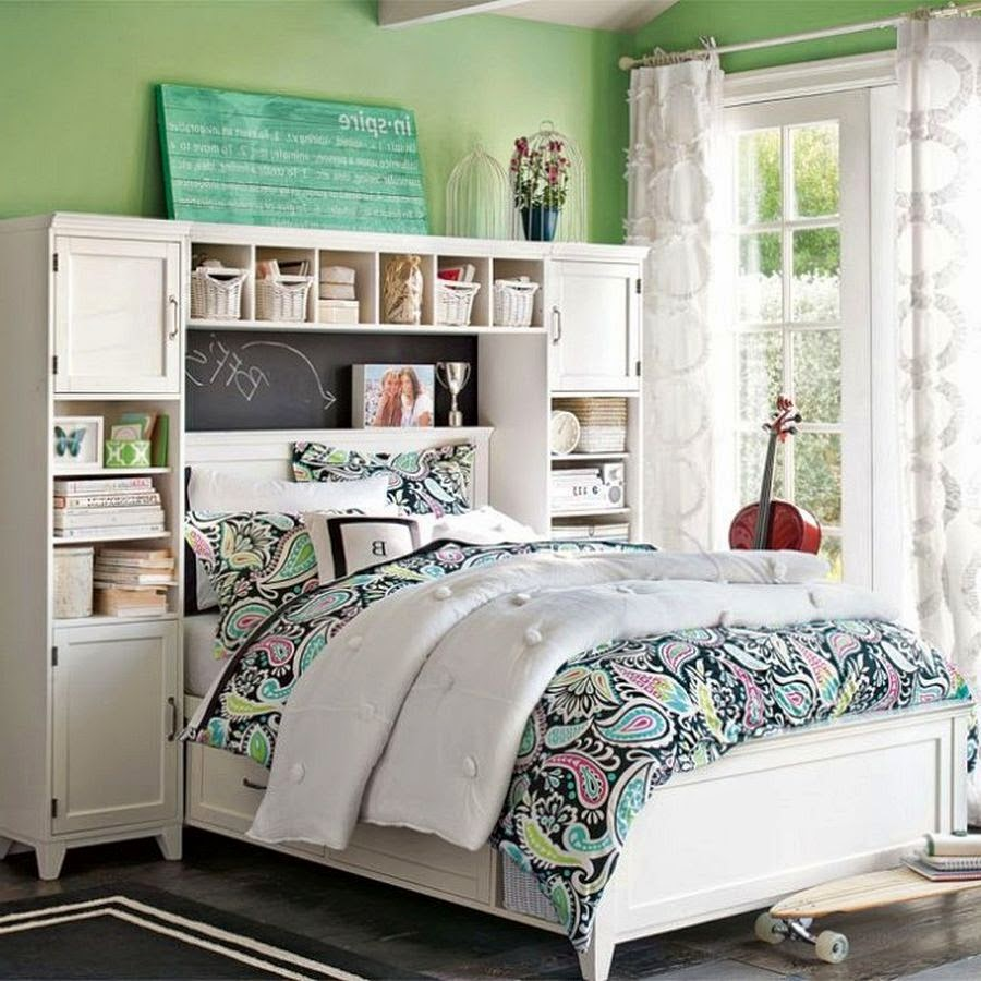 Bedrooms Ideas For Teenage Girls Encourage Optimism With Bright ...