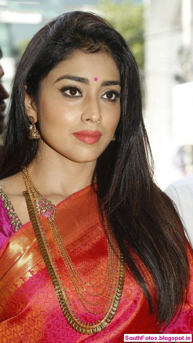 Shriya Saran in Saree Wallpapers