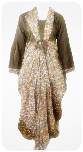 Koleksi Model Baju Gamis Batik Update Baru