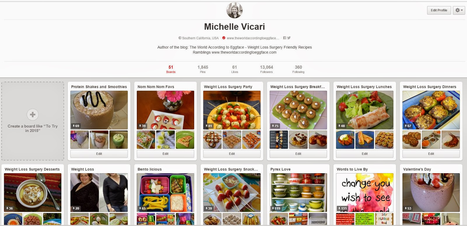 Pinterest Pages Like my Other Pinterest Pages