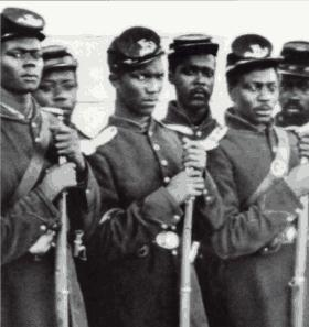 Black Union Army soldiers like Spottswood Rice helped turn the tide in the Civil War.