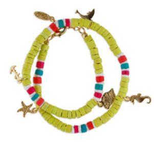 tropical style bracelet