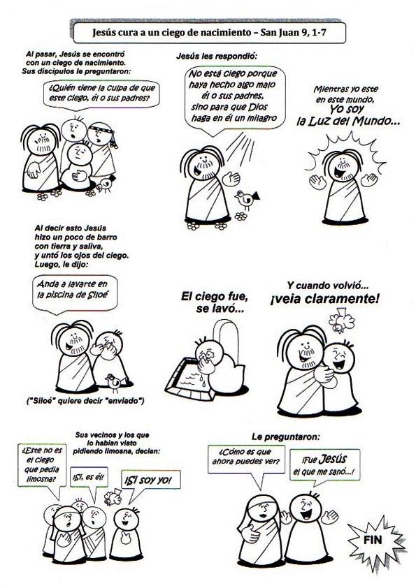 La Catequesis (El blog de Sandra) Recursos Catequesis El ciego de nacimiento