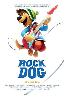 Rock Dog 2016 DVD Custom NTSC Latino HDTS