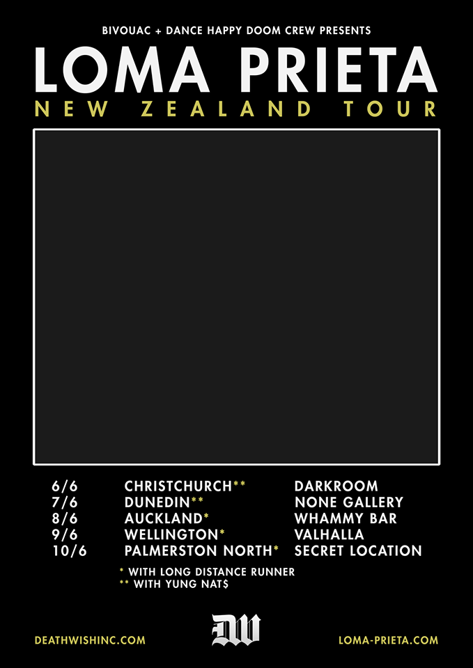 Loma Prieta NZ Tour