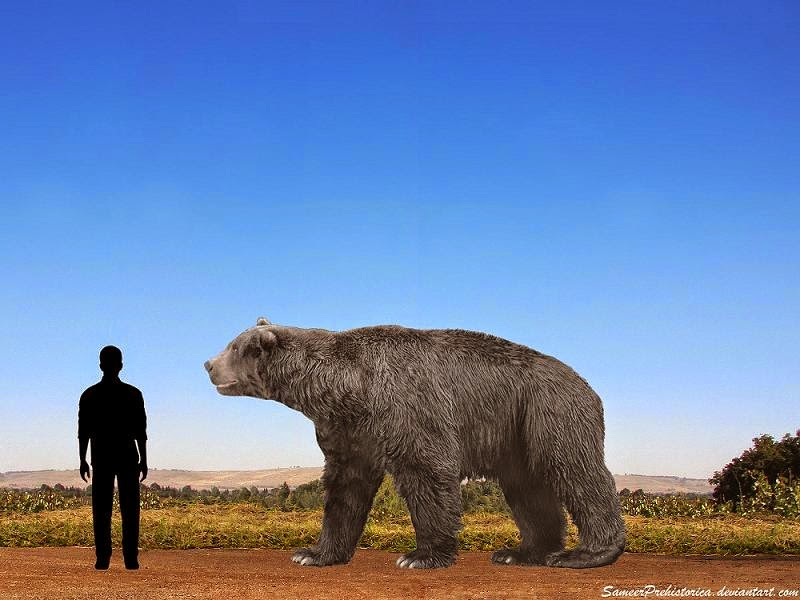 7 Incredible Facts About The Short Faced Bear Wide Open