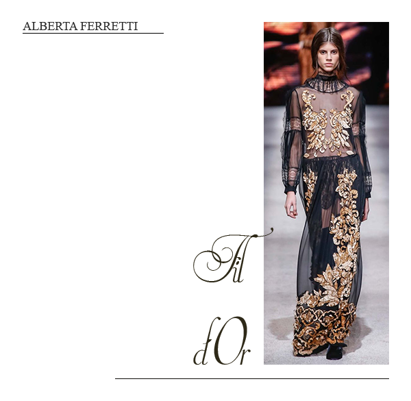 clemence m fashion week alberta ferretti