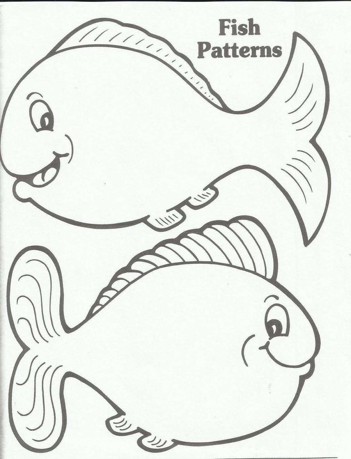 Goldfish Pattern Printable 1