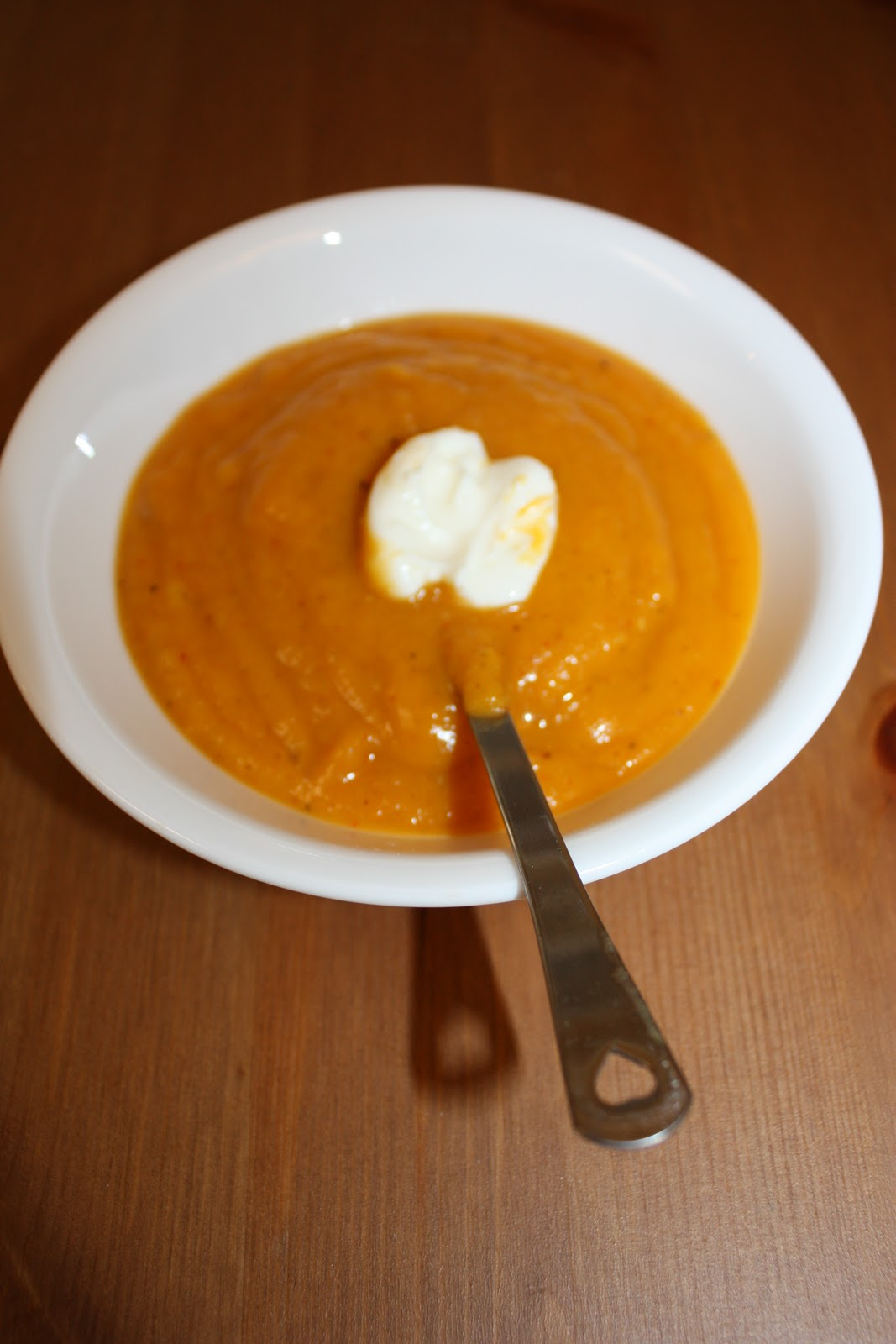 Olive The Ingredients: Butternut Squash & Apple Soup