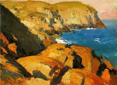 Edward Hopper - Blackhead, Monhegan,1919