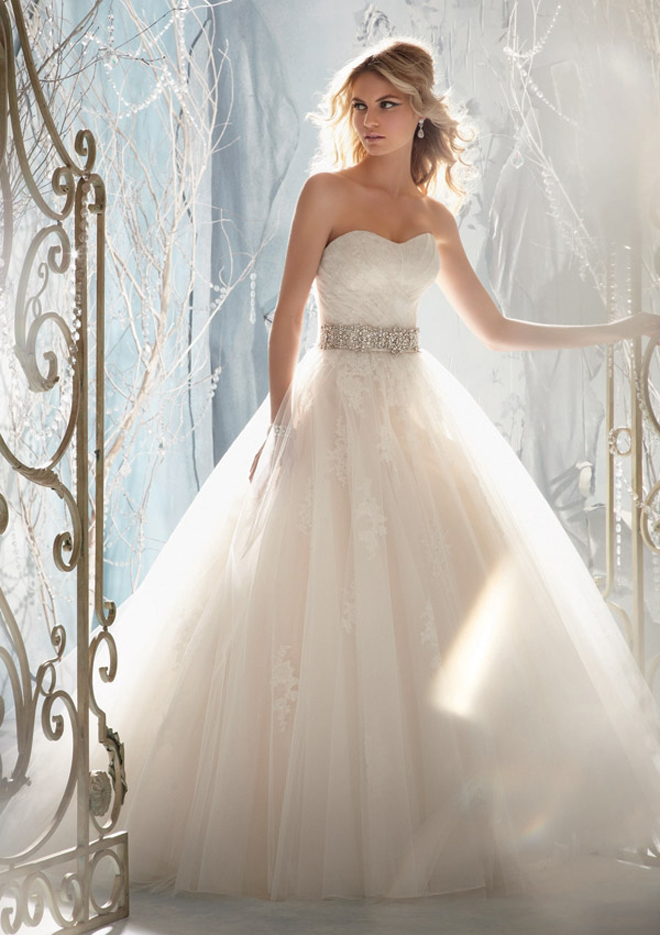 Mori Lee Ball Gown Wedding Dresses : Mori lee by madeline gardner fall bridal collection my dress of