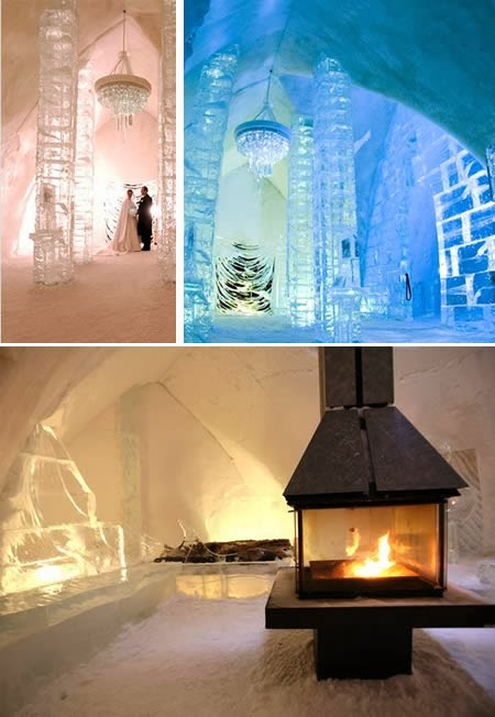 Hôtel de Glace (Canada): made entirely out of ice and snow