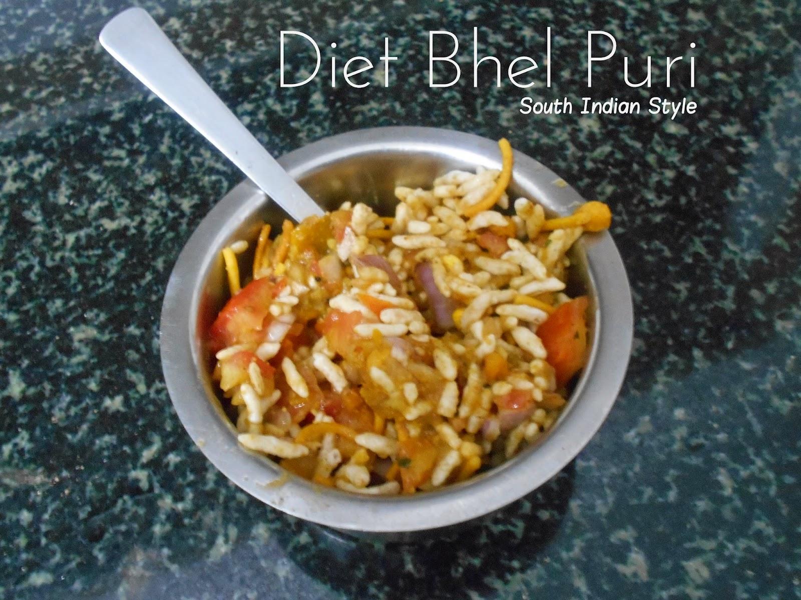 Diet Bhel Puri
