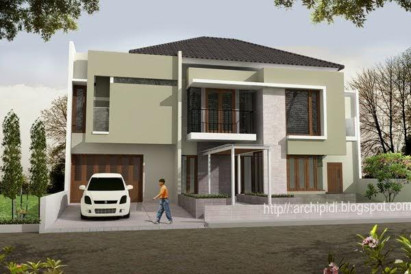 panduan bangunan rumah desain rumah minimalis modern