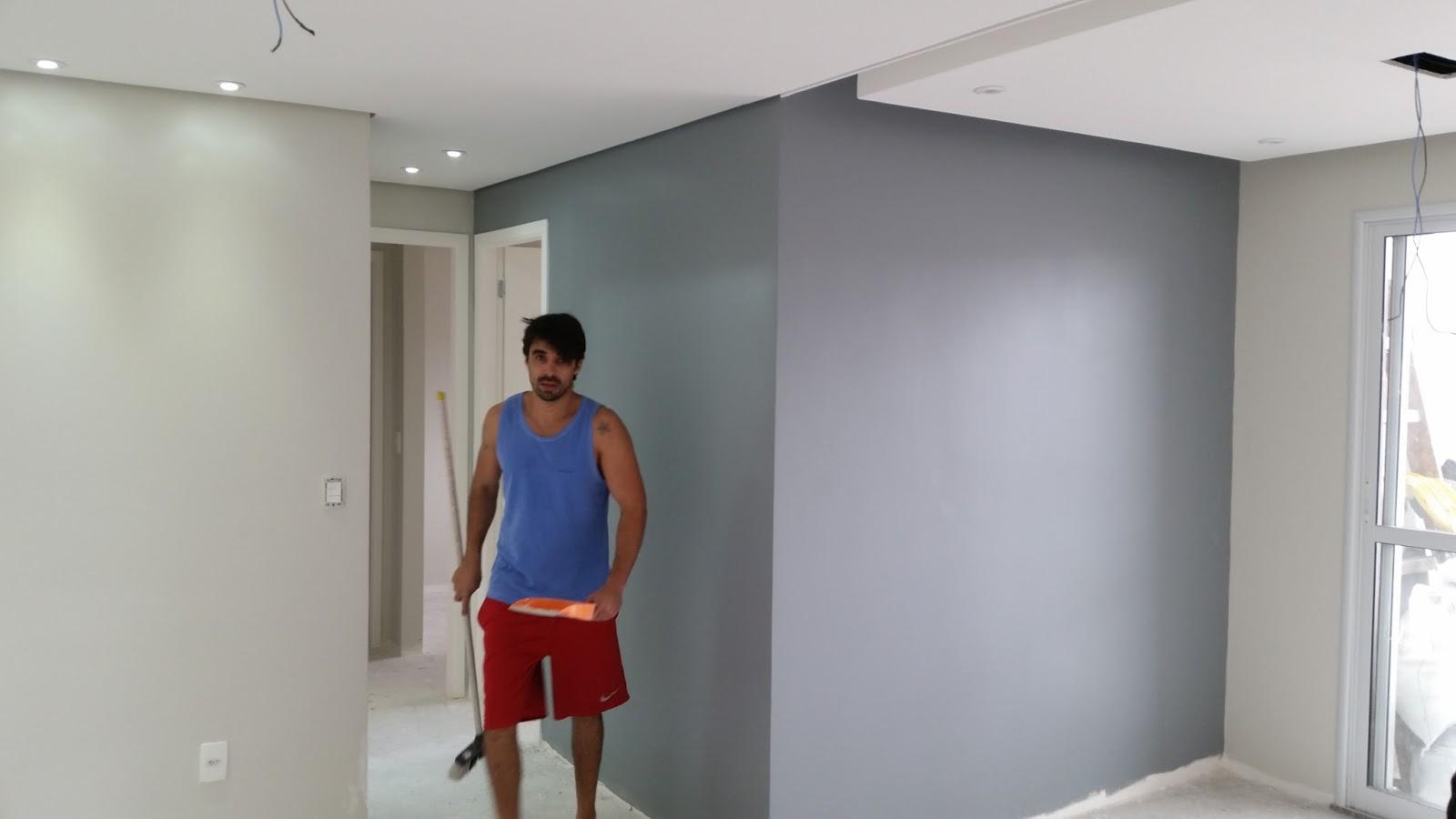 Montando O Apartamento Pintura Das Paredes