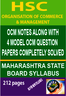 ORGANISATION OF COMMERCE AND MANAGEMENT