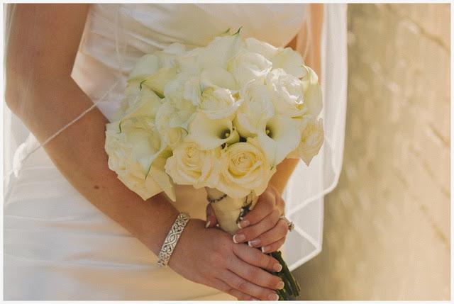 Calla Lilies, white roses, loda floral design