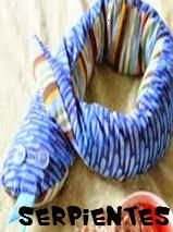 http://animalesdetela.blogspot.com.es/2014/06/serpientes-de-tela.html